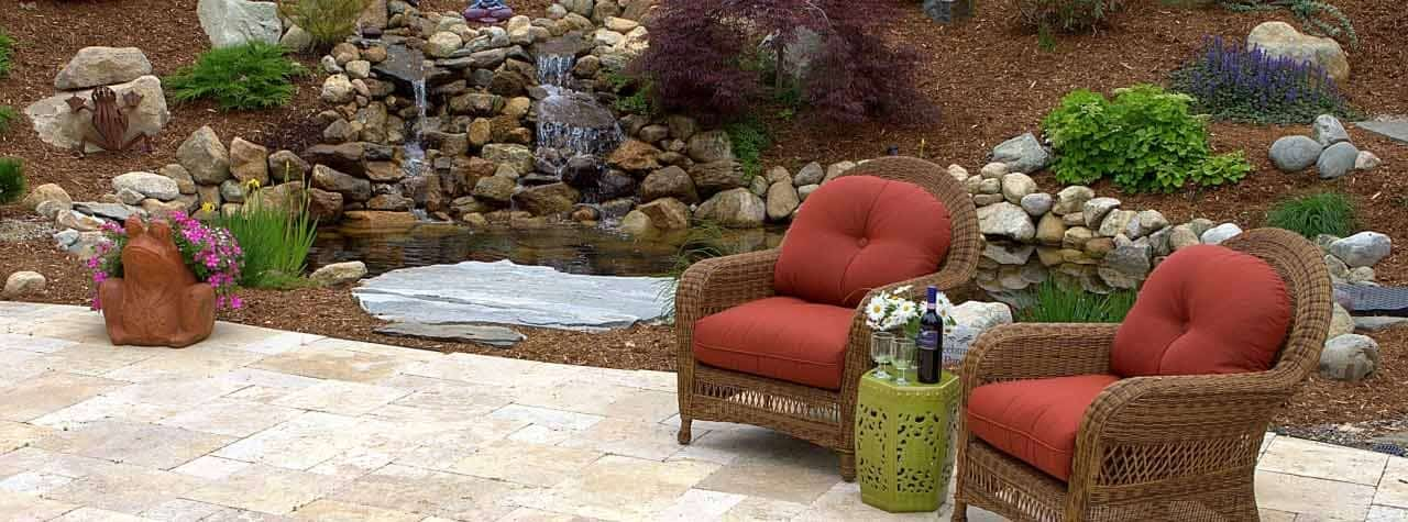 relaxing cape cod patio