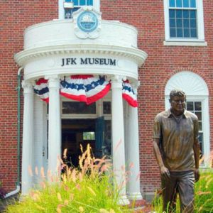 Picture of the JFK Museum in Hyannis.