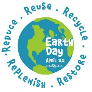 Image stating reduce reuse recycle replenish and restore