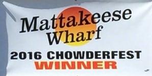 Mattakeese Wharf 2016 chowderfest winner